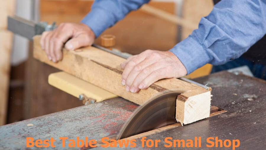 Compact and portable table saws that suitable for small space.