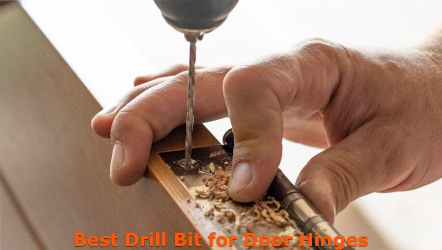 Drill bits that suitable for drilling door hinge precisely.