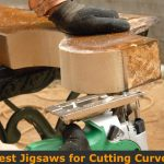 Using Jigsaw to cut difficult curve live on wood.