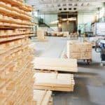 Methods of storing lumber wood.