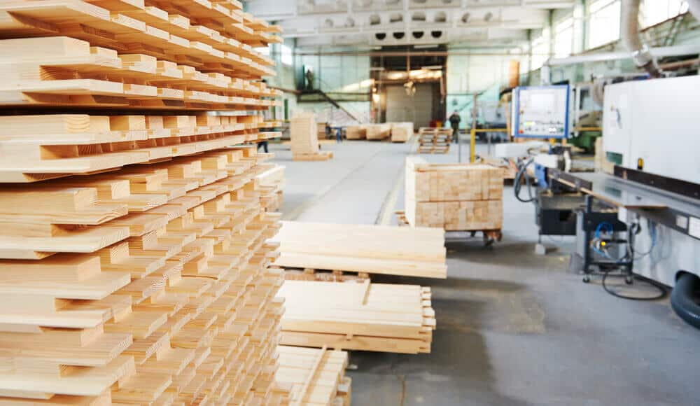 Methods of storing lumber wood.