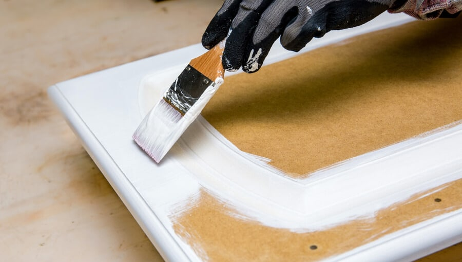 How to paint MDF furniture without using any primer.