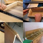 Uses of piano hinge in woodworking.