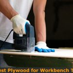 Making workbench top with plywood.