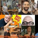 Top Woodworking and carpentry youtubers.