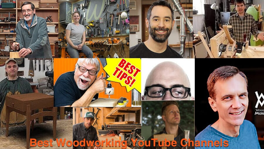 Famous woodwork craft and woodworking youtube learning channels.
