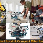 Compact and portable miter saws can can bring to everywhere.