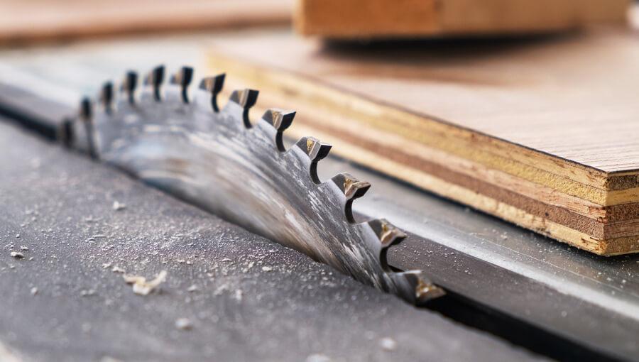 Table saw blade.