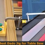 Dado jig template kit for table saw.