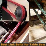Link belt sizes.