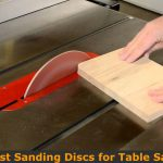 Converting table saw to a sanding station.