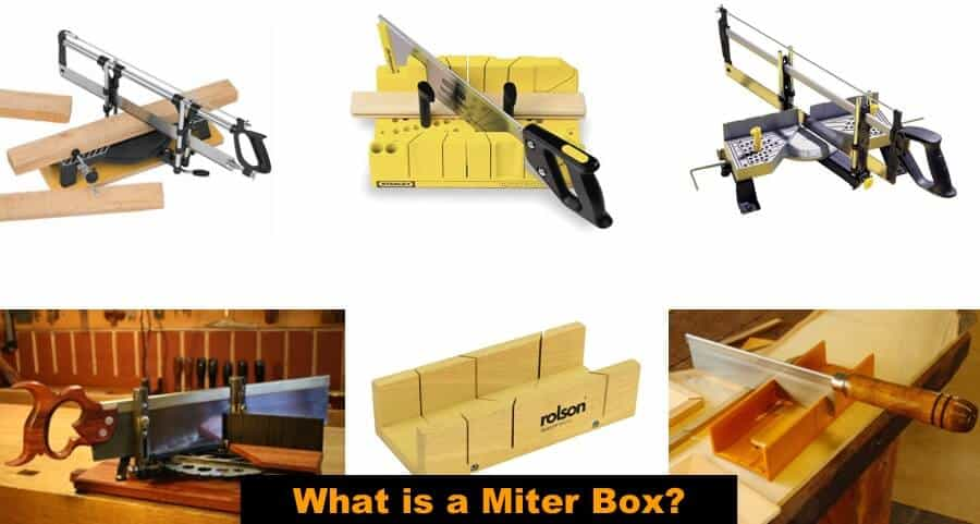 Different types of miter box.