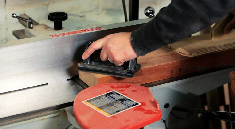 Functions of wood jointer.
